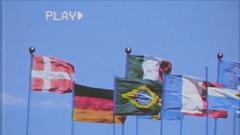 VHS flags redux mix ITA FRA EU Stock Footage