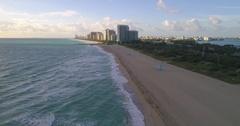 Aerial Haulover Miami Beach 4k 60p Stock Footage