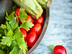Raw vegetables Stock Footage