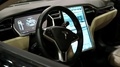 Tesla electromobile interior HD Footage