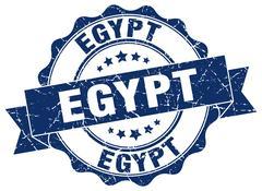 Egypt round ribbon seal Piirros