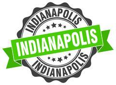 Indianapolis round ribbon seal Piirros