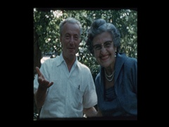 Portrait of Eastern European Grandparents Stock Footage