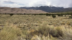 Great Sand Dunes National Park Stock Footage