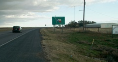 Welcome to Texas Sign Stock Footage