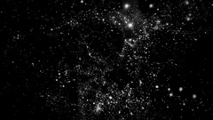Traveling through star fields in deep space - Space Travel 2213 Stock Video Stock Footage