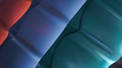 Variants of metal tiles of different colors to cover the roofs of houses Stock Footage