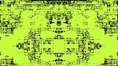 Digital Glitches Artifacts Codec  Damage Grunge Interference V-1 4K 4096x2304 Stock Footage