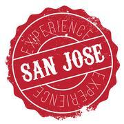 San Jose stamp Piirros