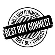 Best Buy Connect rubber stamp Stock Illustration
