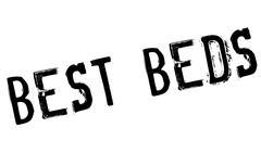 Best Beds rubber stamp Stock Illustration