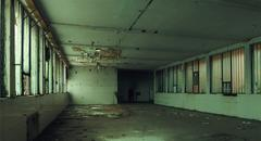 Old Obsolete Factory Interior Stock Photos