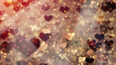 Happy Valentines day animated card. Stock Footage