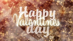Happy Valentines Day. Stock Footage