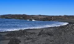 Montana Bermeja Beach in Lanzarote, Canary Islands, Spain Stock Photos