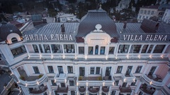 Respectable Villa Elena With Bright Illumination Stock Footage