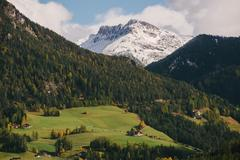 Val di Funes, South Tyrol, Dolomite Alps, Italy Stock Photos