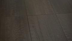 Detail of child's feet walking posing in black jogging shoes Stock Footage
