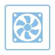Fan icon Stock Illustration