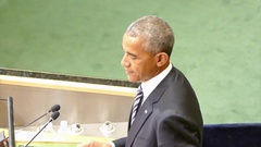 US President Barack Obama holds a speech at the General Debate of the GAUN Arkistovideo