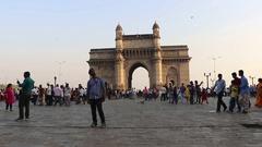 Gateway of India, Mumbai Stock Footage