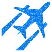 Air Jet Trace Grainy Texture Icon Stock Illustration