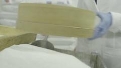 Icing sugar Stock Footage
