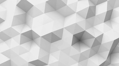 White low poly texture Stock Footage