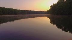 Amazing Lake opener intro Shot 4k Arkistovideo