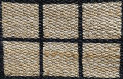 Brown Handicraft Weave Texture Stock Photos