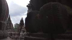 Temple of Prambanan. Relief Stock Footage
