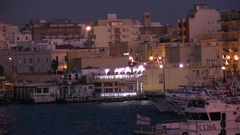 Gallipoli - Apulia - Salento sunset Stock Footage