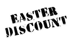 Easter Discount rubber stamp Stock Illustration