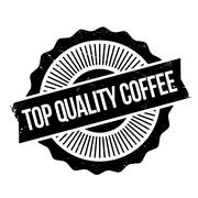 Top Quality Coffee rubber stamp Stock Illustration