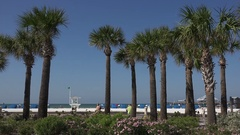 Clearwater beach, Florida, USA Stock Footage