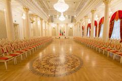 KAZAN, RUSSIA - 16 JANUARY 2017, City Hall - luxury and beautiful touristic Stock Photos