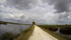 Black Point Wildlife Drive Time Lapse. Stock Footage