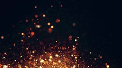 Glowing particle, abstract background. Stock Footage