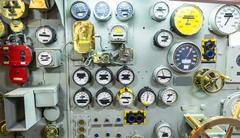 Engineering interior of aircraft carrier Kuvituskuvat