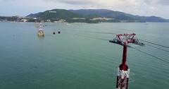 Aerial Footage of Nha Trang, Vietnam Stock Footage