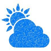 Weather Grainy Texture Icon Stock Illustration