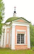 The Church of St. Catherine in Saviour Priluki Monastery. Stock Photos