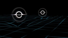 Gravitational waves. Stock Footage