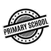 Primary School rubber stamp Stock Illustration