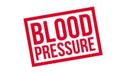 Blood Pressure rubber stamp Piirros