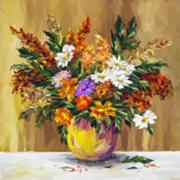 Vase with Flowers Stock Illustration
