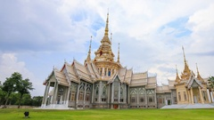 Wat Luang Pho Toh temple or Wat Non Kum temple , Thailand Stock Footage