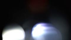 Realistic Creative Light Leaks Footage Stock Footage