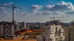 Rehovot building 4K UHD 29 97 fps Stock Footage