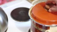 Preparation of carrot juice. Stock Footage